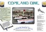 Come and Dine Dinner Mat