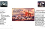 Resurrection Sunday Dinner Place Mat