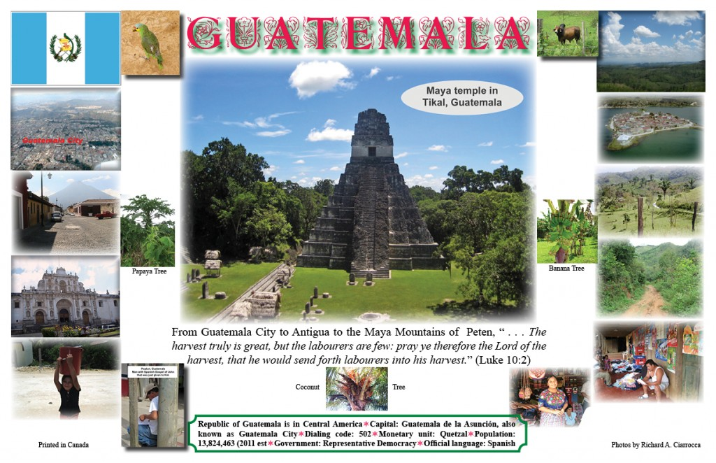 Missionary Poster #7: Guatemala