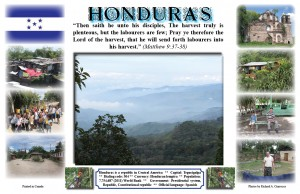 Missionary Poster #8: Honduras
