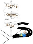 Life's Cross-Road-E